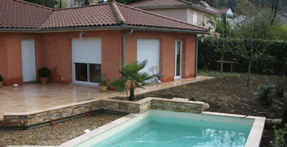 Paysagiste cdp cr ateur de paysage amb rieux d for Construction piscine 09