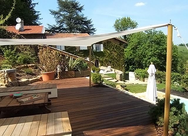 Am nagement paysager et espaces verts villefranche sur for Espace vert terrasse